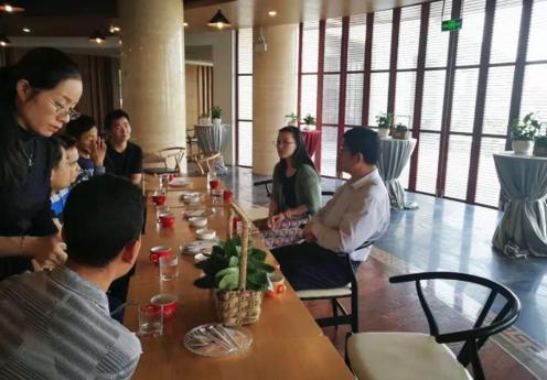 普洱茶咖产业局与上海茶业交易中心交流磋商
