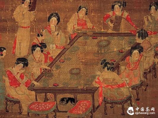 细赏古代茶事美图