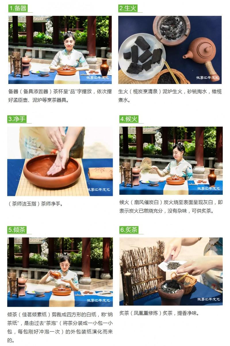 中华茶文化——潮汕工夫茶标准冲泡21式