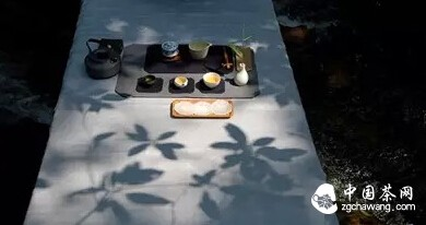 户外喝茶,也是一种风景