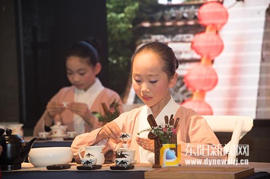 茶文化进校园,水润课程成效显