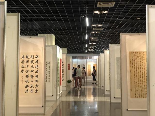 省中小学师生茶文化主题书法开展
